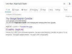 Как проверить индексацию страницы в google?